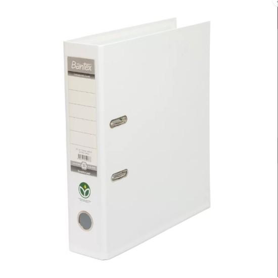 Lever Arch File A4 7CM (White)