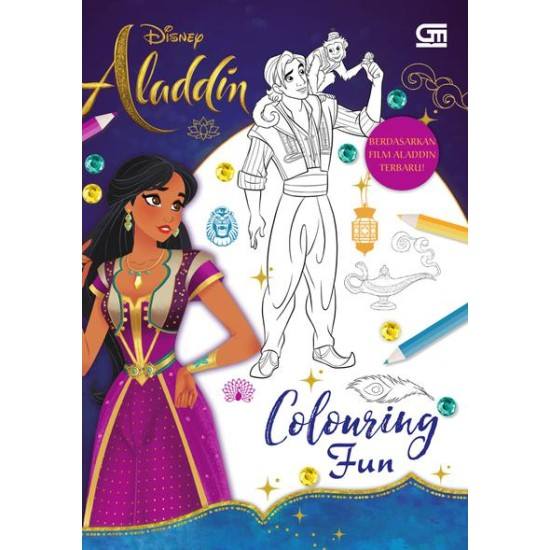 Aladdin: Colouring Fun