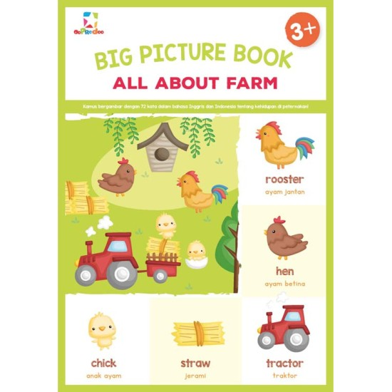 Big Picture Book: All About Farm