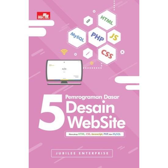 5 Pemrograman Dasar Desain Website