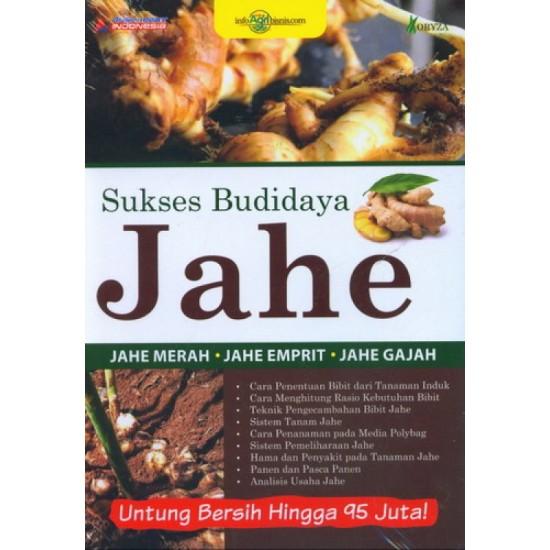 Sukses Budidaya Jahe