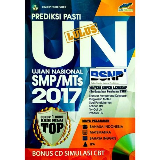 Smp/Mts Prediksi Un Lulus Unjian Nasional 2017 + Cd