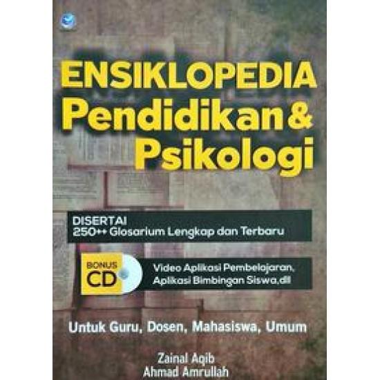 Ensiklopedia Pendidikan & Psikologi + CD