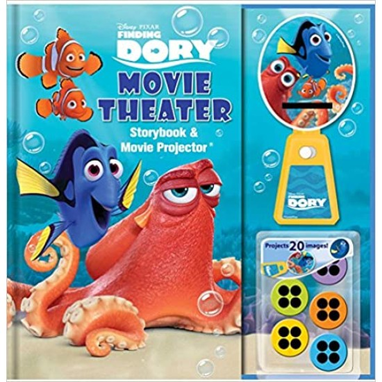 Disney Pixar Finding Dory Movie Theater Storybook & Movie Projector