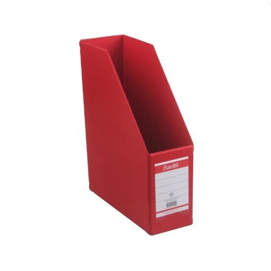 Bantex Magazine File 10CM (Red)