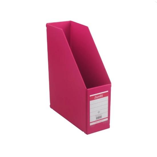 Bantex Magazine File 10CM (Pink)