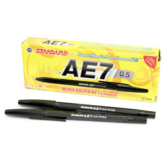 Pulpen Standard AE7 Fine Black