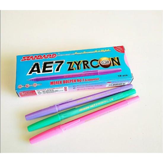 Pulpen Standard AE7 Zyrcon Black