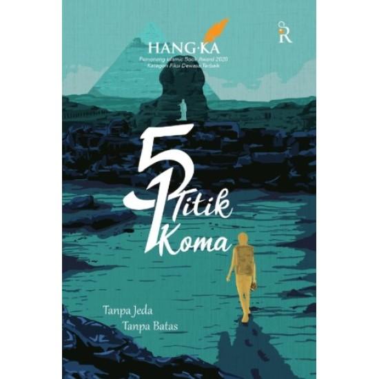 5 Titik 1 Koma Tanpa Jeda Tanpa Batas - Edisi TTD, Bonus Bookmark, Postcard, Blocknote