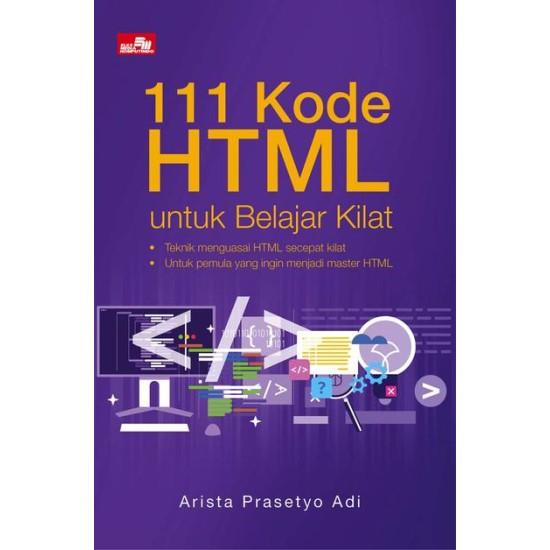 111 Kode HTML untuk Belajar Kilat