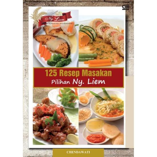 125 Resep Masakan Pilihan Ny. Liem