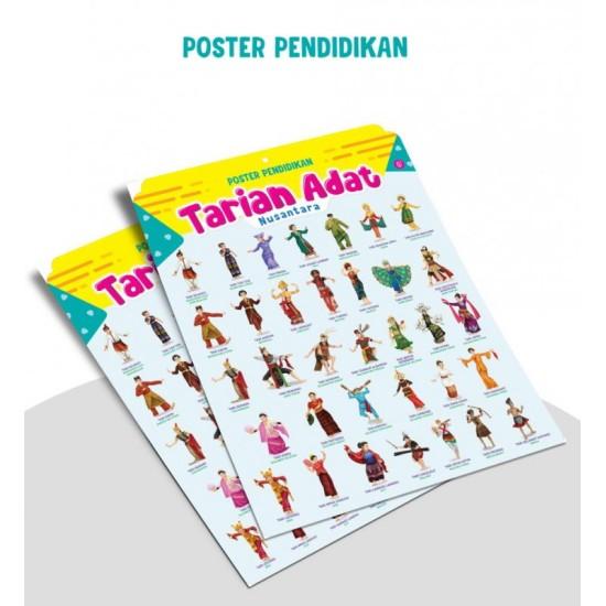 Poster Pendidikan Tarian Adat Nusantara