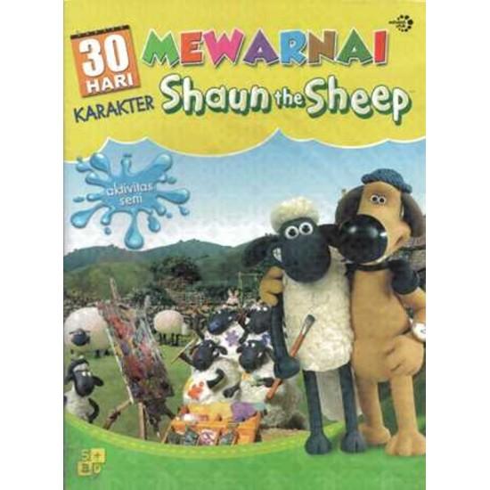 30 Hari Mewarnai Karakter Shaun the Sheep