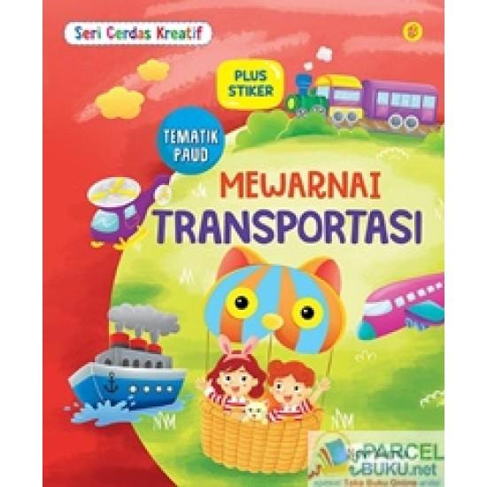 Seri Cerdas Kreatif Mewarnai Transportasi
