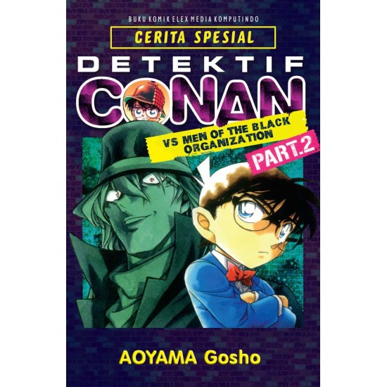 Detektif Conan VS Men of The Black Organization Vol. 2