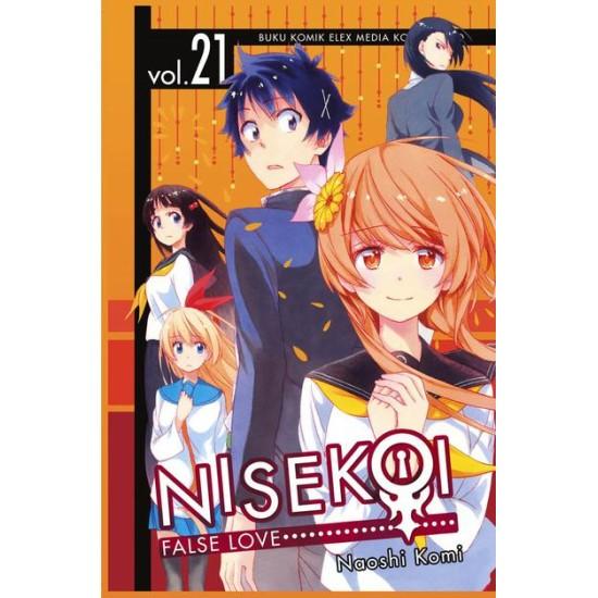 Nisekoi: False Love 21