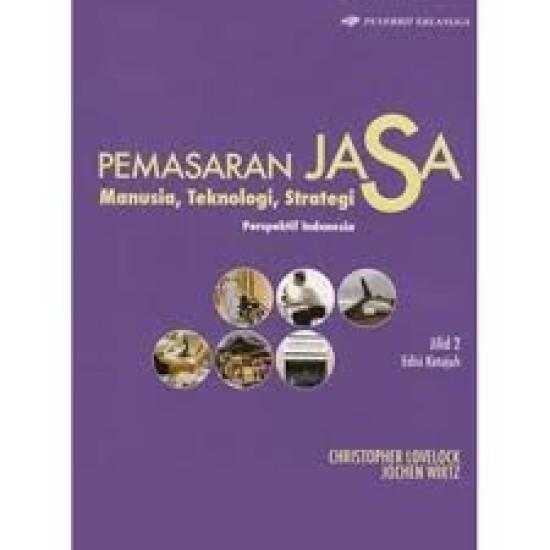 Pemasaran Jasa Perspektif Indonesia Jilid 2 Edisi 7