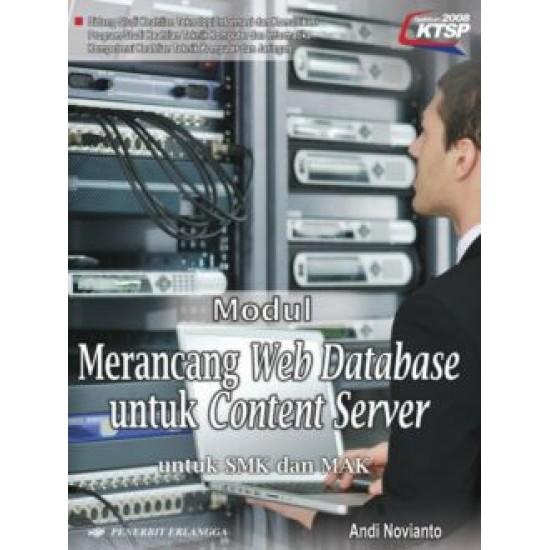 modul tkj merancang web database untuk content server