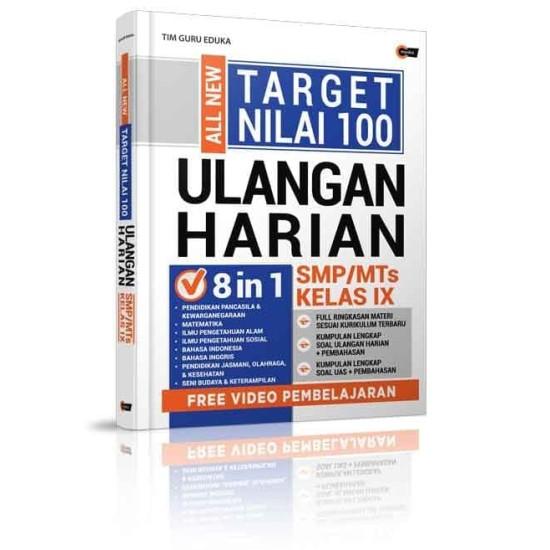 All New Target Nilai 100 Ulangan Harian SMP/MTs Kelas IX