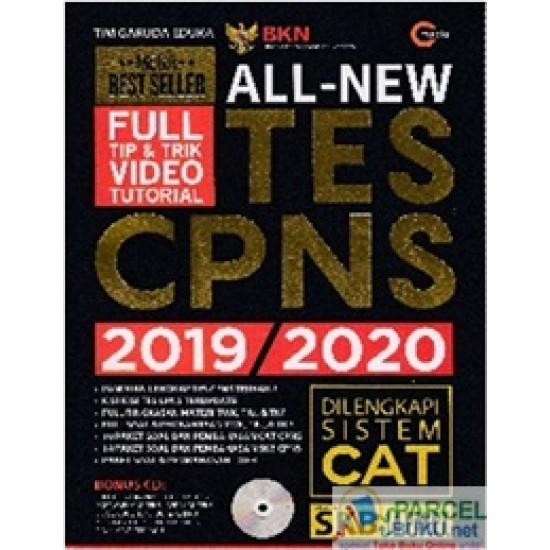 All New Tes CPNS 2019/2020 (Plus CD)