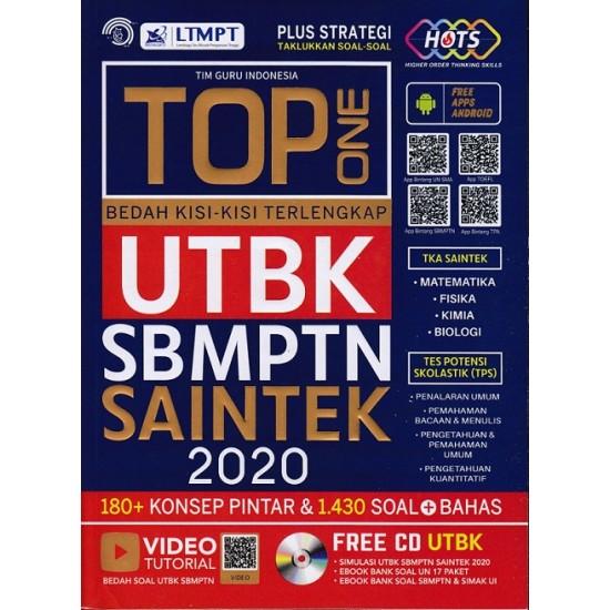 Top One Bedah Kisi-kisi Terlengkap UTBK SBMPTN Saintek 2020+CD