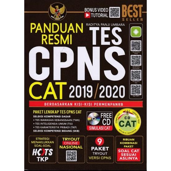 PANDUAN RESMI TES CPNS CAT 2019/2020+CD