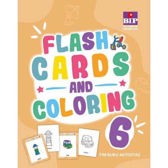 Flash Cards And Coloring 6