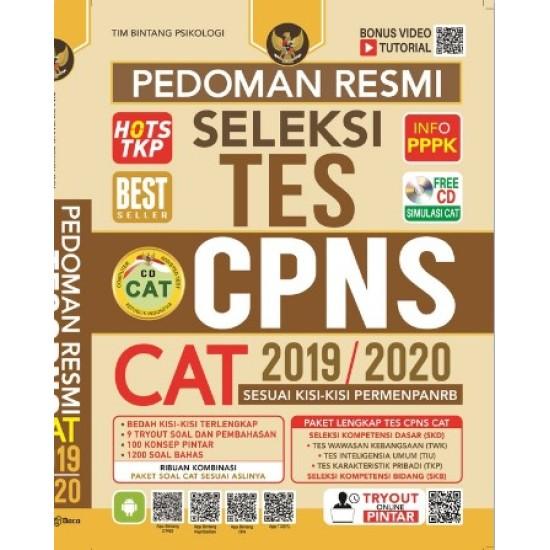 Pedoman Resmi Seleksi Tes CPNS CAT 2019/2020 (FREE CD)