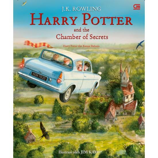 Harry Potter dan Kamar Rahasia (Harry Potter and The Chamber of Secrets) Edisi Ilustrasi Hard Cover