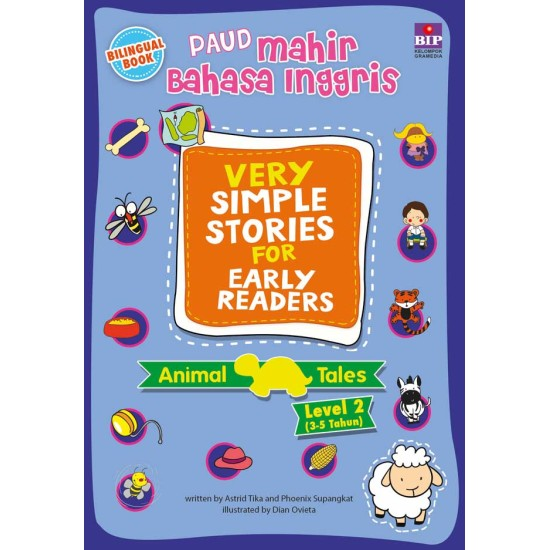 Paud Mahir Bahasa Inggris : Very Simple Stories For Early Reader Animal Tales 2