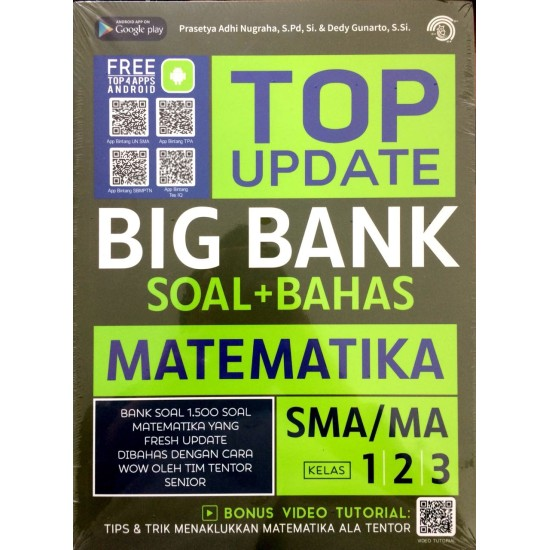 Top Update Big Bank Soal + Bahas Matematika Sma/Ma 1, 2, 3