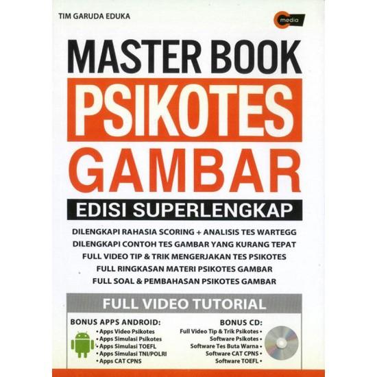 Master Book Psikotes Gambar Edisi Super Lengkap (BONUS CD)
