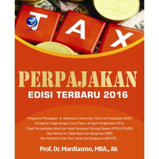 Perpajakan Edisi Terbaru 2016
