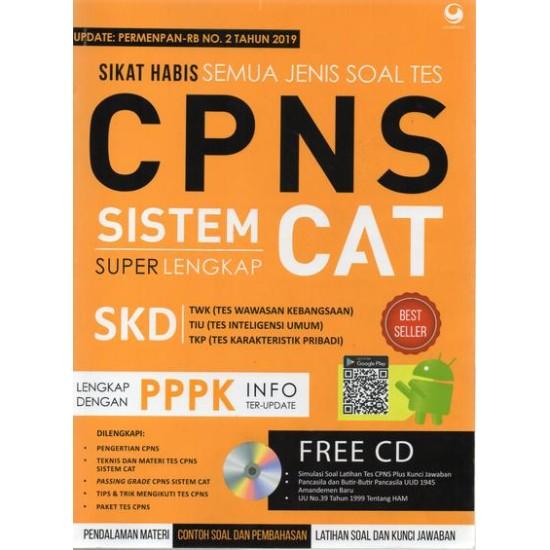 Sikat Habis Semua Jenis Soal Tes CPNS Sistem CAT SuperLengkap (NEW EDITION)