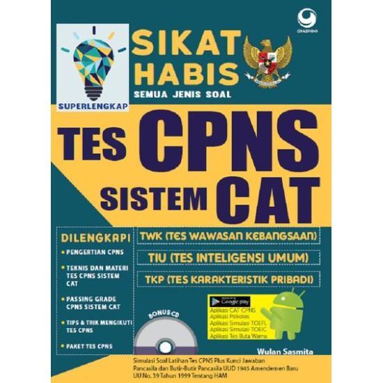Sikat Habis Semua Jenis Soal Tes Cpns Sistem Cat (Super Lengkap)