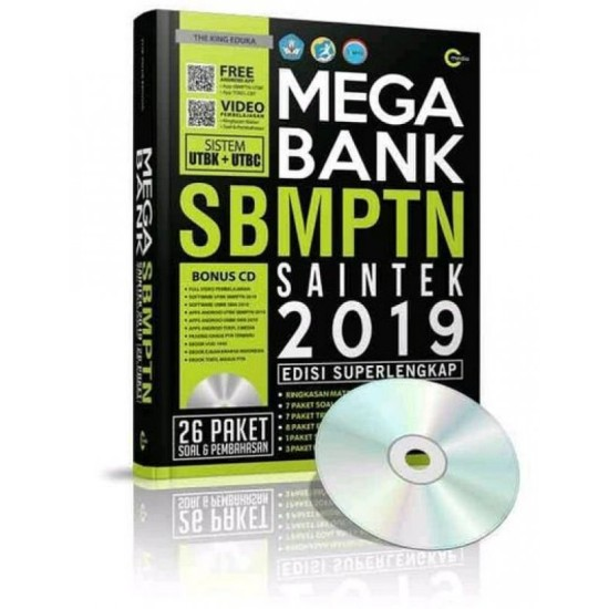 Mega Bank SBMPTN Saintek 2019 + CD
