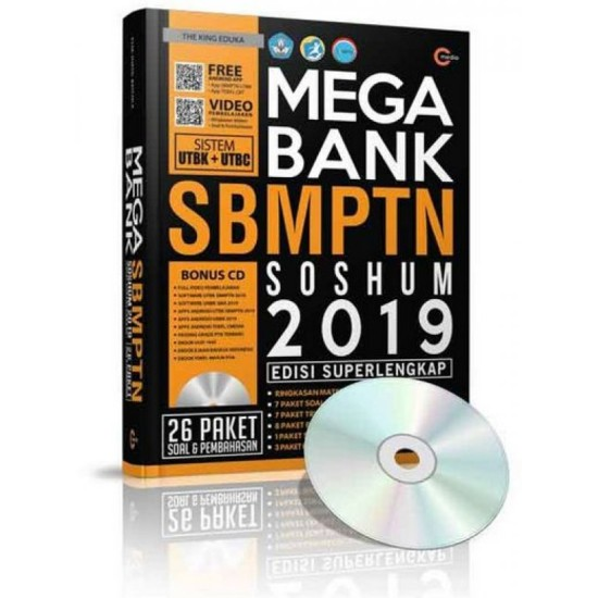 Mega Bank SBMPTN Soshum 2019 + CD