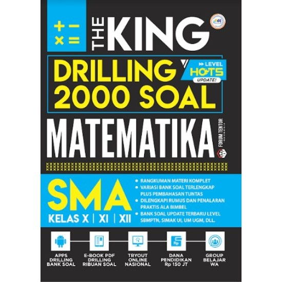THE KING DRILLING 2000 SOAL MATEMATIKA SMA