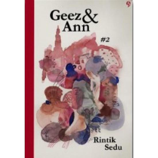 Geez & Ann #2 - New Cover