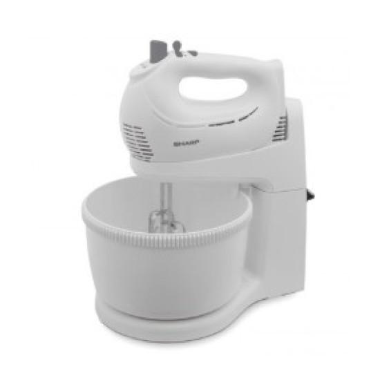 SHARP Hand Mixer EM-H53-WH