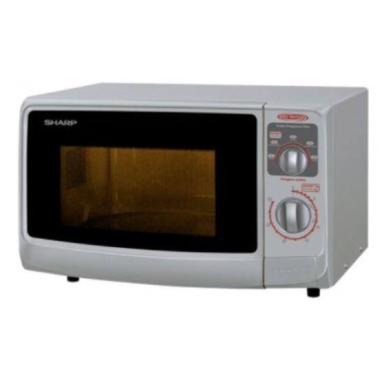 Sharp Compact Push Open Door Microwave R-222-Y[S]/[W]