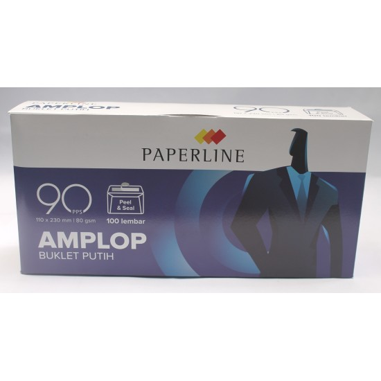 Amplop Putih Paperline EV 90 PPS