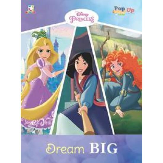 Pop up Coloring Princess - Dream Big