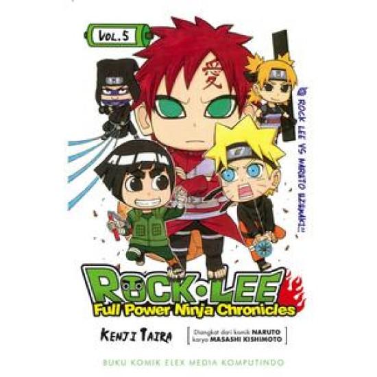 ROCK LEE - Full Power Ninja CHRONICLES 5 - Rock Lee VS Naruto Uzumaki