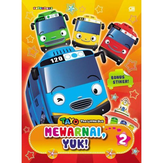 Tayo the Little Bus: Mewarnai, Yuk! 2