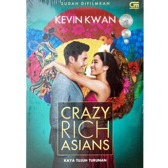 Crazy Rich Asians (Kaya Tujuh Turunan) - Cover Film
