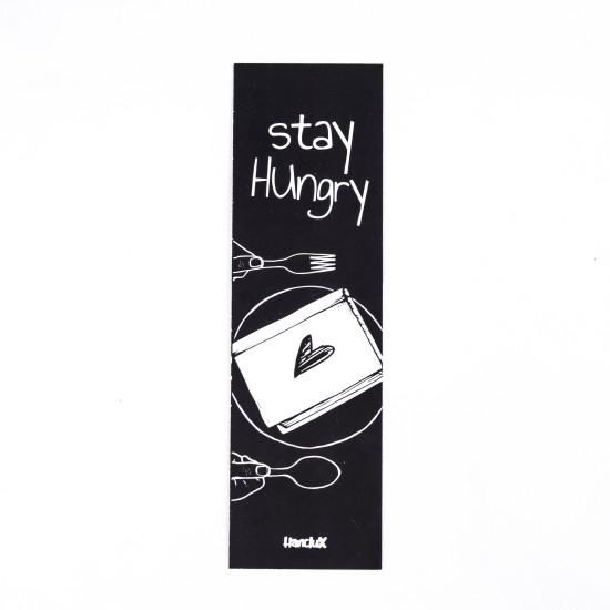 Hanclux Bookmark Black Reading