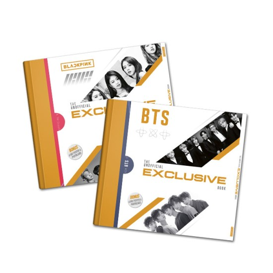 BTS, TXT, Blackpink, Ikon the Unofficial Exclusive Book