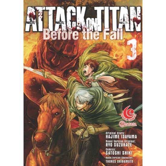 LC: Attack On Titan Before The Fall 03