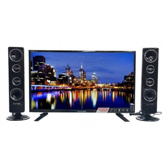 Polytron LED TV 32 inch HD Ready PLD-32T1550/S+SPK T0932/S